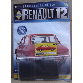 Renault 12 Para Armar Fasciculo Y Piezas Nº 14 Escala 1/8