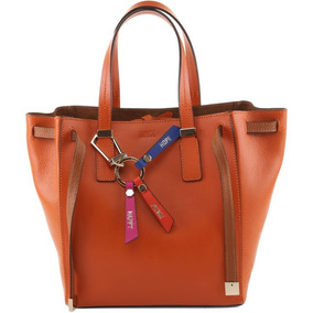 Bolsa Schutz Shopping Wishes Orange Original