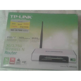 Router Tp Link Nuevo 3g