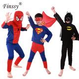 Disfraz De Niño 4 A 12 Años Super Heroes