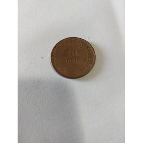 Moeda De 40 Réis De 1900 Bronze Já Com Frete