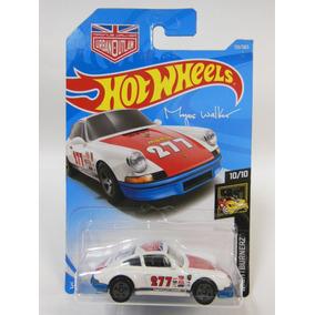 2018 Hot Wheels 1971 Porsche 911 #115 Nightburnerz Branca