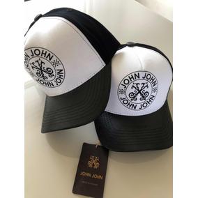 Bone John John Couro - Bonés John para Masculino no Mercado Livre Brasil 72b27d718ac