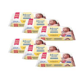 Kit Johnsons Baby Toalhinhas Com 576 Unidades