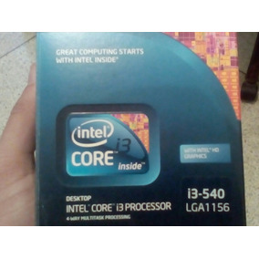 Procesador Intel Core I3-540