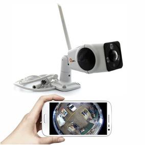 Camara Ip Exterior Fisheye Panoramica 360 Grados Infrarrojo