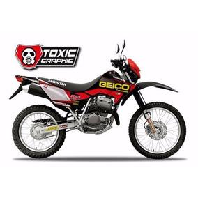 Kit Calcos Graficos Compl Honda Xr 250 Tornado Solomototeam