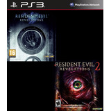 Resident Evil Revelations 1 Y 2 Deluxe Edition Ps3 Digital