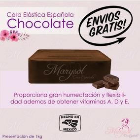 Cera Elástica Española Depilación Sin Bandas Chocolate