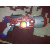 Arma Nerf Optimus Prime Cyber Blaster Con Luces Y Sonidos