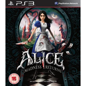 Alice: Madness Returns Ps3 - Mídia Digital