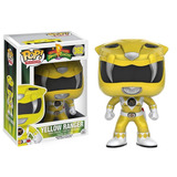 Funko Pop Yellow Ranger 362 Power Rangers Muñeco Original