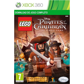 Lego Pirates Of The Caribbean Xbox 360 Midia Digital Dowload