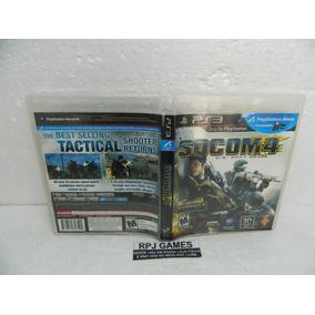 Socom 4 Us Navy Seals Original Completa Midia Fisica P/ Ps3