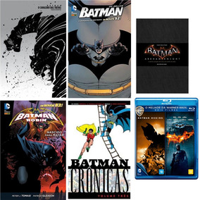 Kit Livros Batman + Blu-ray