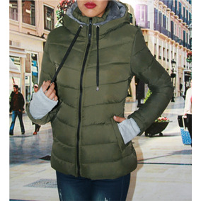Chaqueta Verde Militar Mujer - Chaquetas y Abrigos en Mercado Libre ... 2ee8c1165285