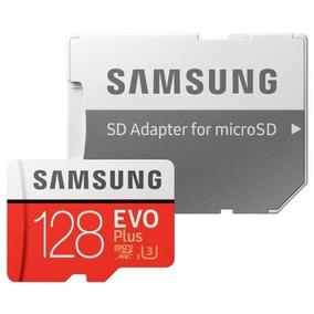 Cartão De Memória Microsdxc Uhs-i Samsung Evo Plus 128gb