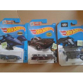 Lote 11 Batimovil Hot Wheels Incluye Batman Va Superman