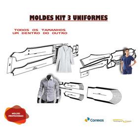 600ab1465 Moldes De Uniforme Hospitalar - Outros no Mercado Livre Brasil