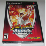Street Fighter Alpha Anthology -juego -ps2