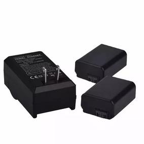 Kit 2x Baterias Np-fw50 + Carregado P Sony Alpha A6000 A6300
