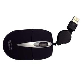 2.518-mini Mouse Retratil Soft Preto Mo306