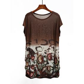 Sakura Asiatica Japon Vestido Blusa Bluson Playa Var Diseños