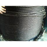Cable De Acero Tipo Boa Negro Y Galvanizado Certificado
