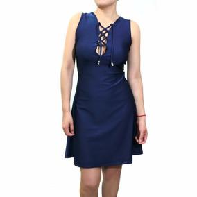 bc92aebdb3 Vestido Corto Ajustado Sexy - Vestidos Cortos de Mujer Azul marino ...