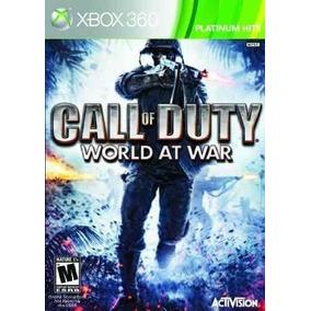 Call Of Duty World At War Midia Fisica Xbox 360