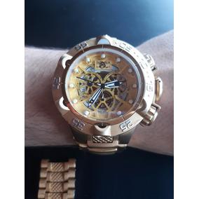 82d1f444796 Relogio Aqua Dourado - Relógios no Mercado Livre Brasil