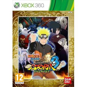 Naruto Shippuden Ult. Ninja Storm 3 Full Burst - Xbox 360