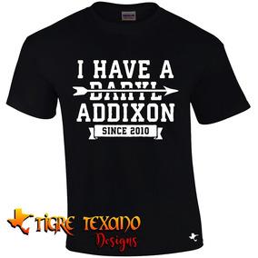 Playera The Walking Dead Daryl Addixon Tigre Texano Designs