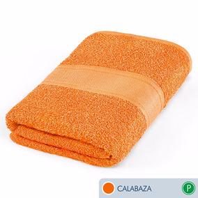 Toallas Ama De Casa Premium Jumbo 175x89cm Calabaza