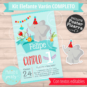 Kit Imprimible Varon Kits Personalizados En Mercado Libre Argentina