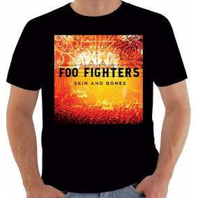 Camisa 6093 Disco Foo Fighters Skin And Bones 2006 Algodão 822aa489851