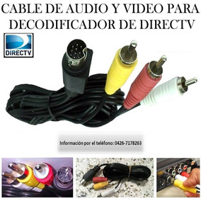 Cable Rca Para Decodificador L-14 Directv