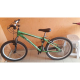 Bicicleta Quadro Heiland Verde Aro 24 Nett 2.2