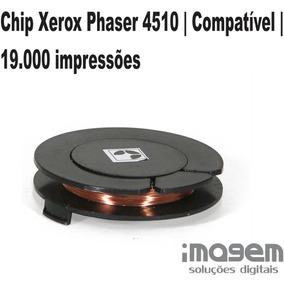 Chip Xerox Phaser 4510 | Compatível | 19.000 Impressões