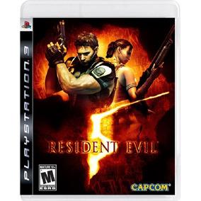 Resident Evil 5 - Mídia Física / Ps3