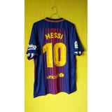 a17f6949fb Camisa Do Barcelona Messi 2017 2018 no Mercado Livre Brasil