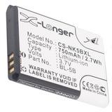 Bateria Cameron Sino Para Nokia 3220 2610 N90 750mah Bl-5b
