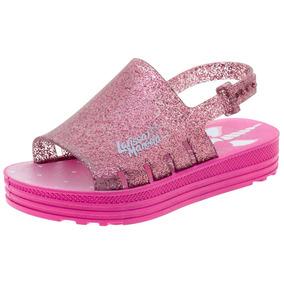 40d54b661 Lojas Flavios Mulher Sapatos Meninas Sandalias Grendene - Sapatos no  Mercado Livre Brasil