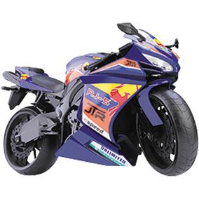 Moto Rm Racing Motorcycle Brinquedo Cor Azul Escuro Motinha