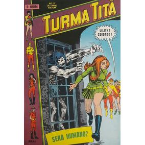 Turma Titã #37 Ebal 1971 O Herói 4a Série Loja De Coleções