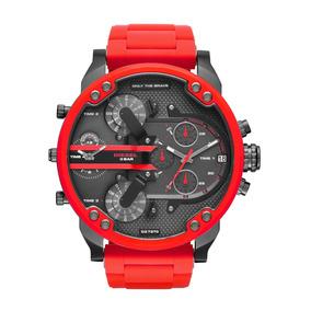 Diesel - Reloj Dz7370 Mega Chief Quartz Stainless Steel Chro