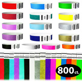 Goldistock 3/4 Tyvek Wristbands The Ultimate Variety Pac