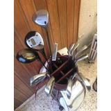 Palos Golf X 10 + Bolso