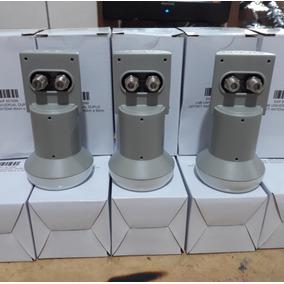 Kit 10 Lnb Duplo Universal Zerado