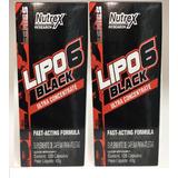 Kit 2x Lipo 6 Black Ultra Concentrado Nutrex 120cáps Cada